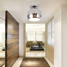 hallway ceiling lighting. hallway ceiling lights semi flushed hollow design in silver lighting e