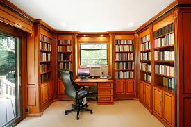 Beautiful Home Office Library Design Images - Decorating Design .