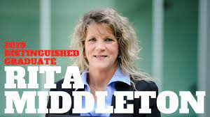Who's In The House: Rita Middleton | 2019 Distinguished Graduate - YouTube