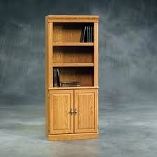 sauder bookcase with doors heritage hill bookcase bookcase with doors beginnings 3 shelf bookcase bookcase cherry