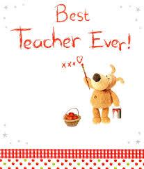 Teachers Birthday Card Boofle Best Teacher Ever Greeting Card