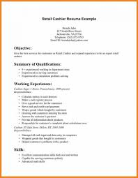 Retail Resume Objective Examples For Career Objectives It Pics