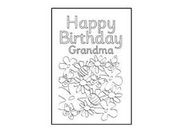 Download printable happy birthday cards in high quality pdf format. Really Cool Site With Printable Cards That Kids Can Color And Give To Friends And Relative Grandma Birthday Card Happy Birthday Grandma Birthday Card Printable