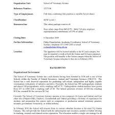 Template Veterinary Technician Resume Templates Sample Vet Tech