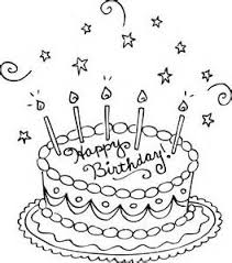 Small Picture Coloring Pages Coloring Pages Cake Without Candles Allcoloredcom