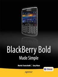 blackberry bold made simple by gary mazo martin trautschold