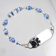 creative al id alert bracelets and stylish jewelry custom end for men women children item da16 gastric byp al alert bracelet