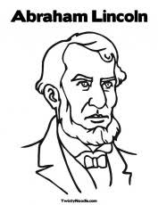 Small Picture A Kids Drawing Of Abraham Lincoln Coloring Page Free Printable