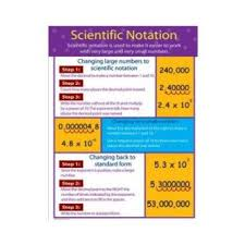 Scientific Notation Chart Chartlets Scientific Notation Cd 414070 On Popscreen