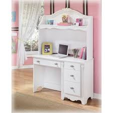 White desk with hutch Storage Home Living Furniture B18823 Ashley Furniture Exquisite White Bedroom Desk Hutch
