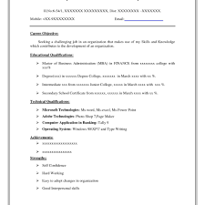 Simple Resume Format In Word Free Consulting Proposal Template Us