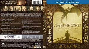 game of thrones season 5 blu ray cover
