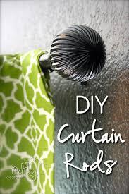 Diy Curtain Rods Redfly Creations Diy Curtain Rod For Under 5 Dollars