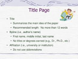 Writing In Apa Style 6th Edition Ppt Download