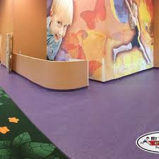 Kids Club La Fitness Linoleum Flooring With Heat Welded Seams La Fitness Kids
