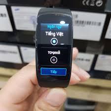 Đồng hồ thông minh samsung gear fit 2 pro chính hãng full box
