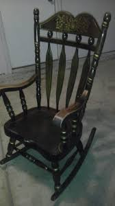 nice heavy duty antique rocking chair