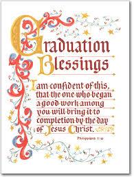 Sisters Of Carmel Graduation Blessings Greeting Card