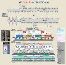 Kiad Airport Charts Airport And Terminal Maps Metropolitan Washington Airports