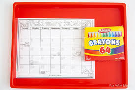 Print out a blank calendar each month for your students to color. 2020 Kids Calendar Printable Fun With Mama
