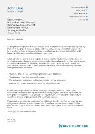 Resume Cover Letter Example For And Cv Sample Fabulous