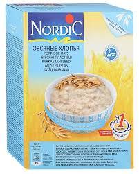 <b>Nordic Хлопья овсяные</b>, <b>500</b> г — купить по выгодной цене на ...