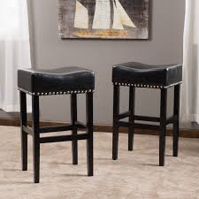 shop lisette 30inch backless leather bar stool set of 2 by christopher knight home on sale free shipping today overstockcom 8661881 leather bar stools e40