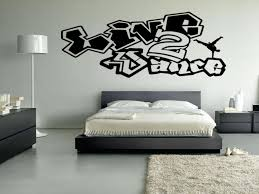 Live  To Dance Vinyl Wall Decal Sticker Wall Art Breakdance - Hip hop bedroom furniture