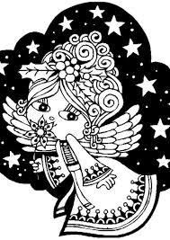 Small Picture Angel Coloring Page Miakenasnet