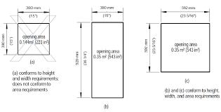 alberta egress building code basement windows calgary