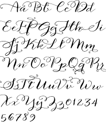 anna clara calligraphy font printables creative things