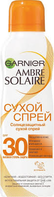 <b>Солнцезащитный</b> сухой спрей <b>Garnier Ambre Solaire</b> ...