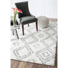 white shag rug in bedroom. 7x9 - 10x14 Rugs For Less. Polypropylene RugsShag RugsWhite White Shag Rug In Bedroom