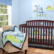 image of awesome monster crib bedding