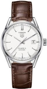 25 best ideas about tag heuer carrera automatic tag heuer men watches tag heuer carrera auytomatic silver dial brown leather mens watch war211bfc6181