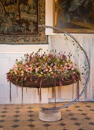Fusion Floral Design Welcome To The Castle Floral Views Magazine Sections