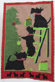 Beautiful Scottie Dog quilt -High Expectations | Dog Quilts ... & Beautiful Scottie Dog quilt -High Expectations Adamdwight.com