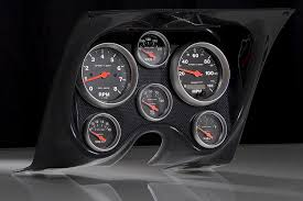 carbon fiber panels fast lane west dash panels gauge wiring 67 68 chevy camaro firebird cf dash w elect sport comp gauges