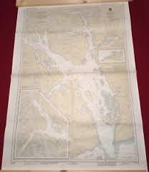 Alaska Nautical Charts Details About Nautical Chart Used In Expedition Glacier Bay Alaska Sailing Map 48 X 34 Noaa