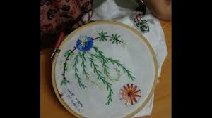 Embroidery Feather Designs Hand Embroidery Designs 183 Feather Long Lazy Daisy Stitch Designs