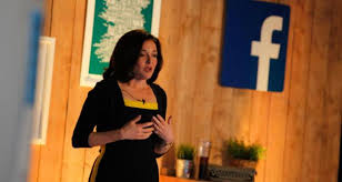 facebook office in dublin. facebook chief operating officer sheryl sandberg speaking at the social netoworking siteu0027s dublin office in m