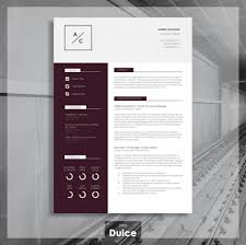 Template Cool Cv Templates Professional Resume Template