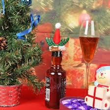 5 Teilelos Weihnachten Dekorationen Champagner Wein