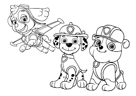 20 Marshall Paw Patrol Coloring Page Compilation Free Coloring Pages