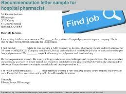 Sample Resume Recommendation Letter