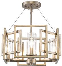beautiful hanging ceiling light fixtures golden lighting 6068 sf wg marco modern white gold semi flush