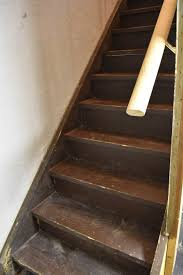 Wood Looking Paint How To Paint Basement Stairs The Weathered Fox