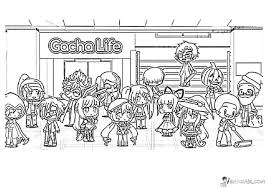 Gacha life app for your devices for free. Gacha Life Kolorowanki Do Druku Gacha Life Kolorowanki Qual Estilo De Pintura Gacha