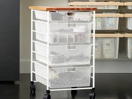 This customized drawer unit from the Container Store was one of the ...