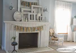 Master Bedroom Fireplace Kammys Korner Fireplace 3 All Shabby Chic Master Bedroom